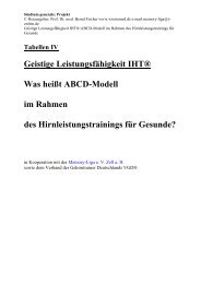 301. ABCD - Modell der geistigen Leistungsfähigkeit ... - Wissiomed.de