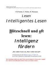 4. Intelligentes Lesen Blitzschnell und oft Lesen ... - Wissiomed.de