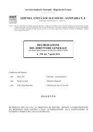 398 del 7.4.2011 - Azienda ULSS 8