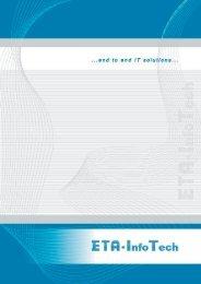 Brochure - ETA - Info Tech