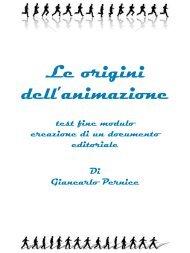 Le origini dell'animazione