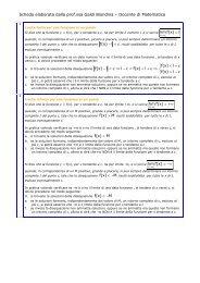 Definizioni di limite - Operazioni sui limiti - Galdi Biondina