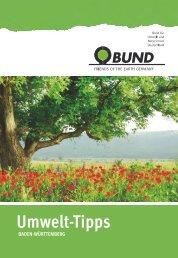 BUND Umwelt-Tipps Esslingen/Göppingen 2013