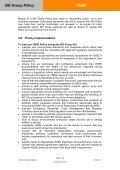 HSSE - BG Group - Page 4