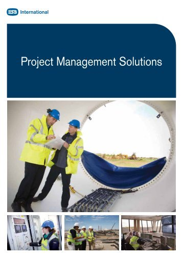 Project Management Solutions - ESB International