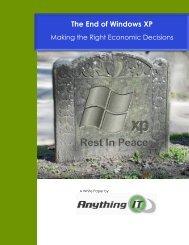 The End of Windows XP - AnythingIT