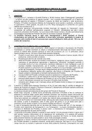 Garanzia Limitata 3 anni - Componenti Meccanici - Campagnolo