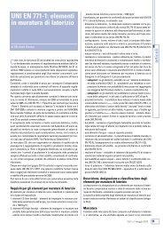 UNI EN 771-1: elementi in muratura di laterizio - Gruppo Stabila