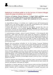 Impianti per la telefonia mobile in via Che Guevara: il Comune di ...