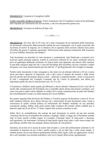 PRESIDENTE - Comune di Cuneo