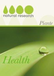 Piante - Natural Research SNC