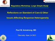 Clinical Research Experience