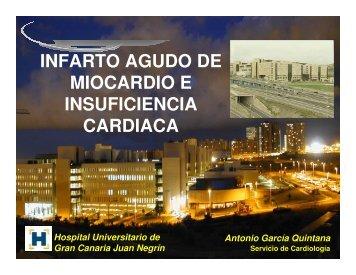 infarto agudo de miocardio e insuficiencia cardiaca - Sociedad ...