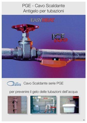PGE - Cavo Scaldante Antigelo per tubazioni - Edilportale