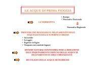 LE ACQUE DI PRIMA PIOGGIA - Dipartimento di Ingegneria delle ...