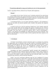 1 O marketing ambiental em empresas brasileiras do setor ... - Anpad