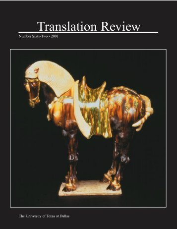 Translation Review - The University of Texas at Dallas