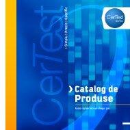 CERTEST Catalog de Produse