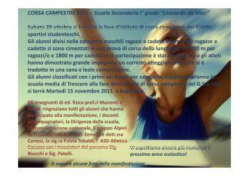 campestre 2011 - Istituto Comprensivo di Trescore Balneario