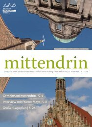 Gemeinsam mittendrin   S. 4 Interview mit Pfarrer Mayr - Erzbistum ...
