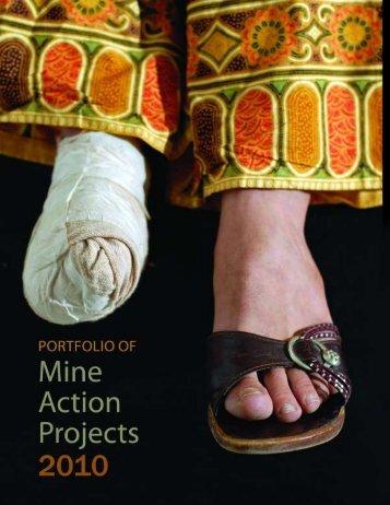 Portfolio of Mine Action Projects 2010 (PDF) - United Nations Mine ...