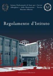 Regolamento d'Istituto - Istituto alberghiero M. Alberini
