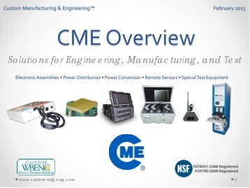 CME Overview
