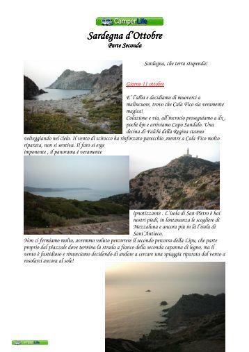 Sardegna d'Ottobre Sardegna d'Ottobre - Camperlife