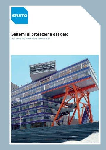 Sistemi di protezione dal gelo - Ensto