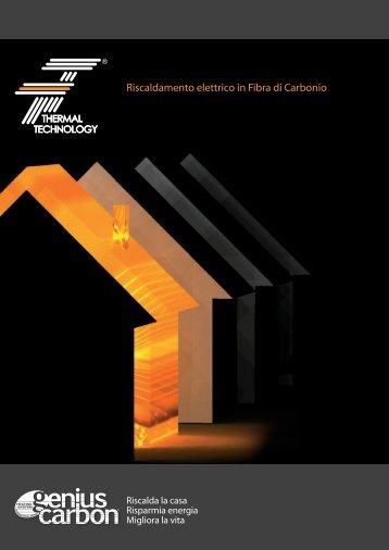 Riscaldamento elettrico in Fibra di Carbonio - Eco Sistema Casa