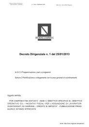 file_12934_GNR.pdf - Visita il sito web - Regione Campania