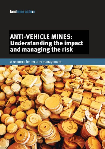 Anti-Vehicle Mines: Understanding the Impact ... - Landmine Action