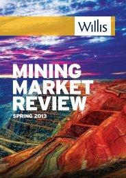 Mining Market Review, Spring 2013 - Willis