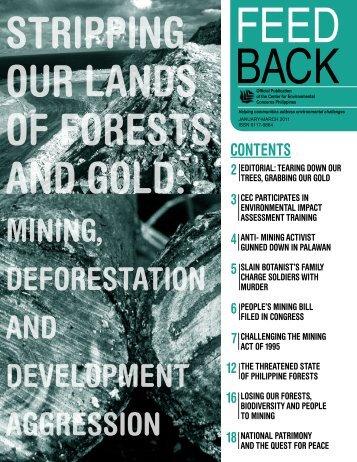 CEC Feedback2011_01.pdf - Center for Environmental Concerns