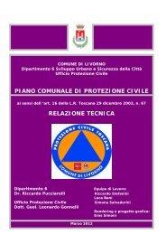 Piano Protezione Civile Livorno - Zerobyte Sistemi Srl