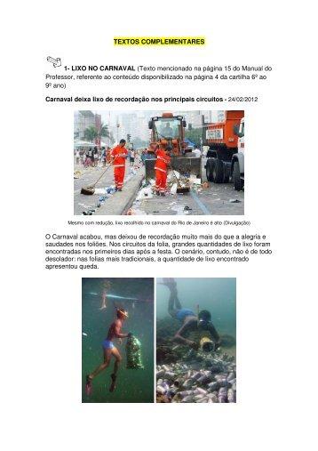 Textos Complementares - Fundação ArcelorMittal Brasil