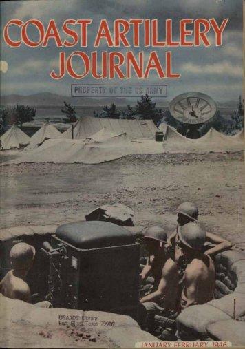 January-February - Air Defense Artillery