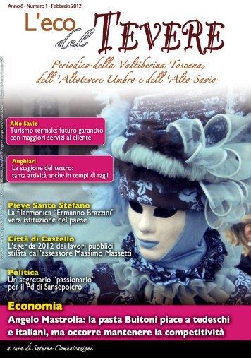 Febbraio 2012 - Scarica l'edizione in PDF - Saturno Notizie