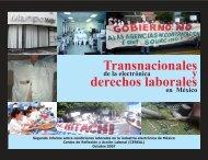 Transnacionales de la electrónica, derechos laborales en México ...