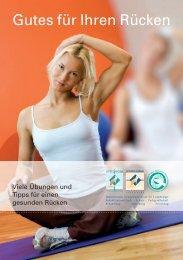 Gutes für Ihren Rücken - Wittlinger Therapiezentrum