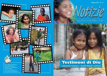 Notizie 17 - Centro missionario diocesano Belluno-Feltre - Diocesi