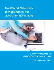 The Role of New Media Technologies in the Lives of ... - Katie Davis