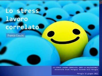 Dott.F.COCCHI (Psicologo - U.O. Formazione ASL2 Perugia) - ConUP