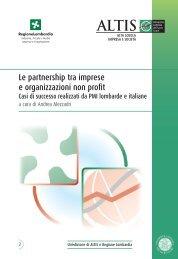 le partnership - Borsa Progetti Sociali
