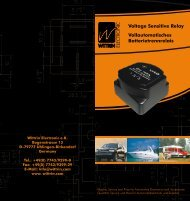 Voltage Sensitive Relay Vollautomatisches ... - Wittrin Electronic