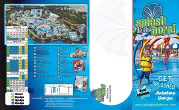 2013 General Brochure - Splash In the Boro