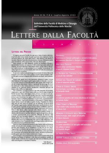 impaginazione 7OK - Facoltà di Medicina e Chirurgia - Università ...