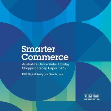 Coremetrics 2012 Holiday Shopping Recap - Power Retail
