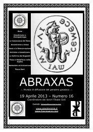 19 Aprile 2013 – Numero 16 - Pax Pleroma