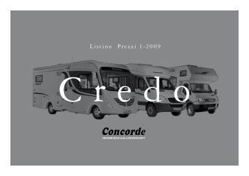 Listino Prezzi 1-2009 - Camperlife